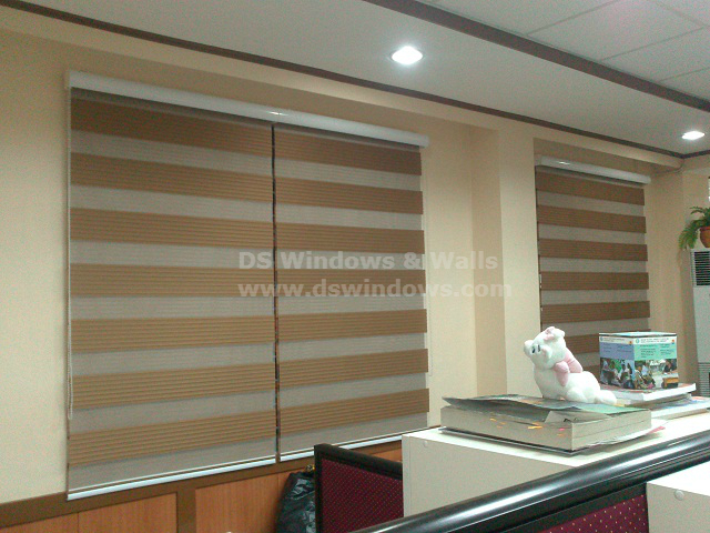 Combi Blinds for Commercial and Residential Areas