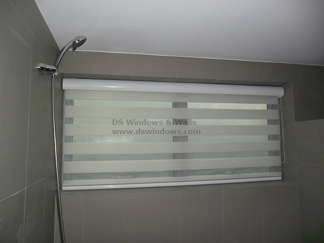 Combi Blinds For Bathroom Window