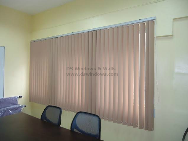PVC Vertical Blinds for Office Conference Room