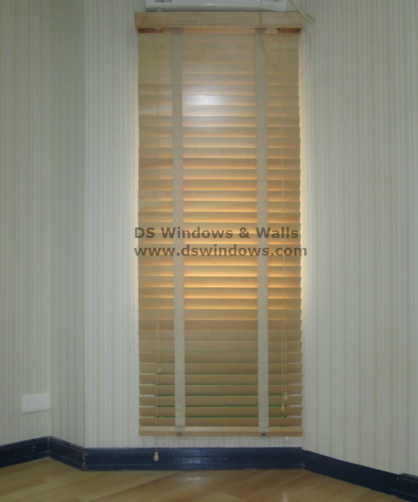 Real Wood Blinds in Paranaque City, Philippines