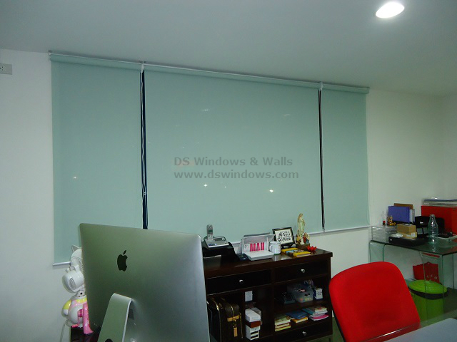 Installed Roller Blinds in Quezon Avenue, Quezon City, Philippines