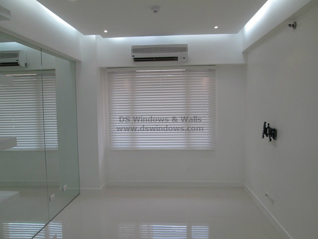 Wood Blinds Installed in BF Homes, Las Pinas City, Philippines