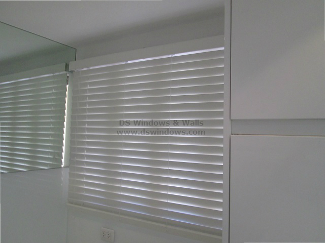 Real Wood Blinds: White