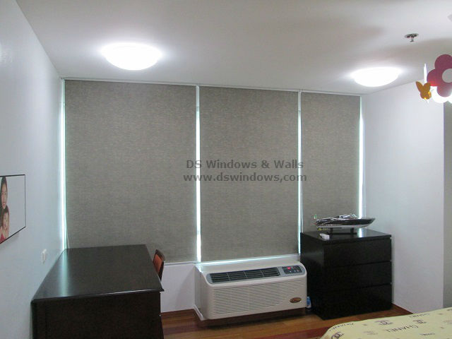Blackout Roller Blinds Installed in Mandaluyong City Philippines
