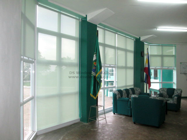 Sunscreen Roller Shades Installed in Lucban Quezon