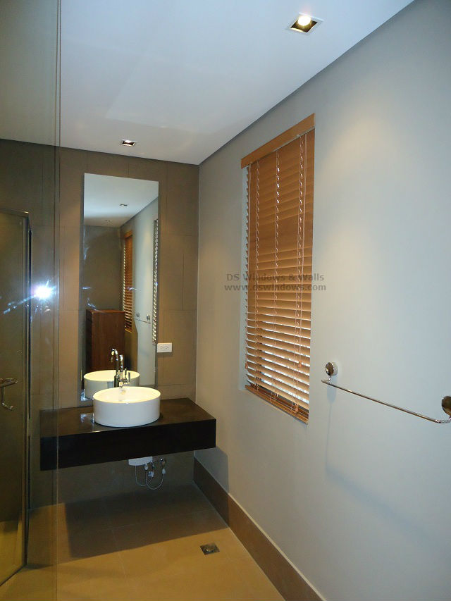 Wood Blinds PVC Type Installed in Pasay City