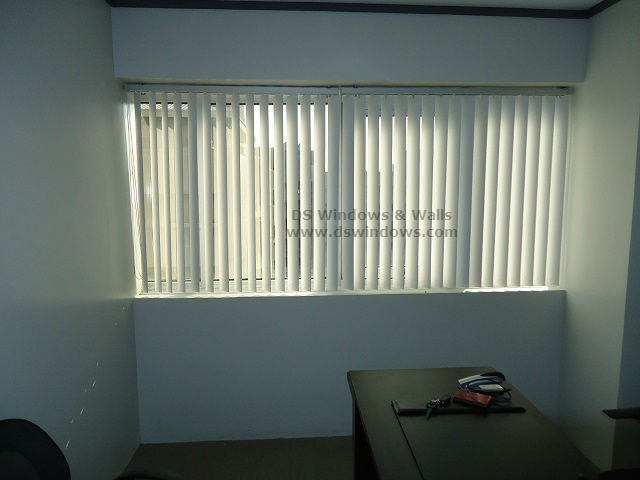 PVC Vetical Blinds For Small Office: Eastwood, Quezon City