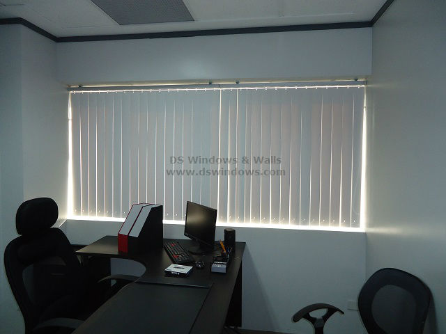 small office space pvc vertical eastwood Maximize A Small Office Space Using PVC Vertical Blinds   Eastwood, Quezon City
