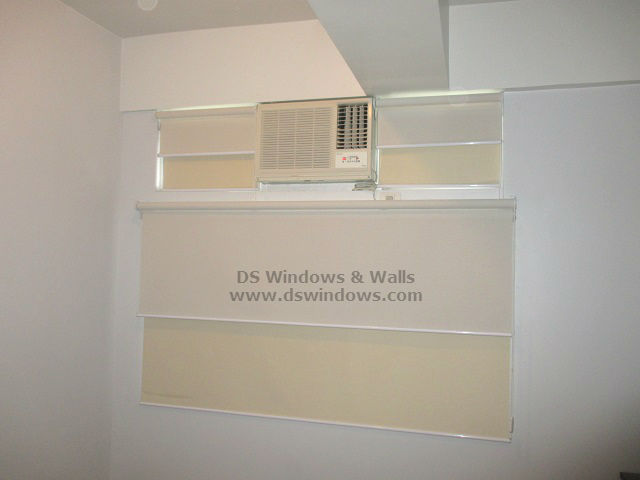 Double Mechanism Roll Up Blinds For Your Condo Unit - California Garden Square, Mandaluyong City