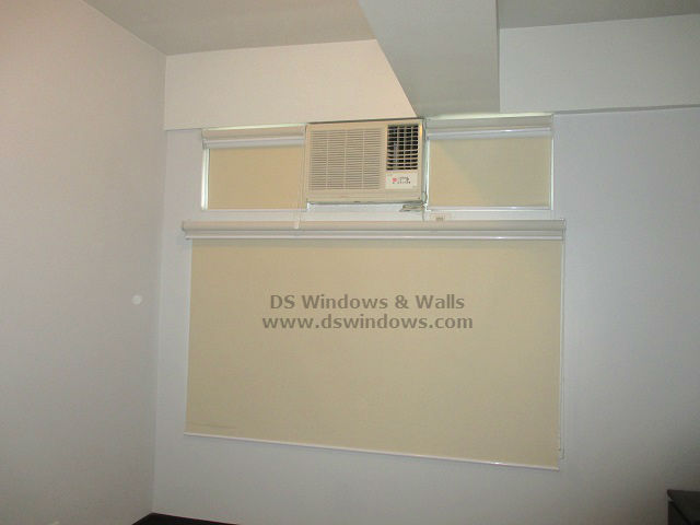 Dual Mechanism Roller Blinds installed in Mandaluyong City
