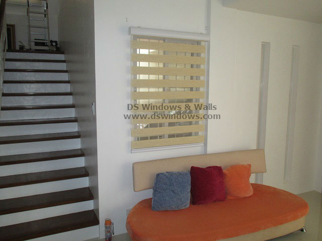 Combination Blinds For Minimalist Living Room - Dasmariñas Cavite, Philippines