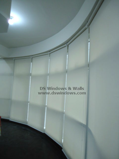 Sunscreen Roller Blinds installed at Mandaluyong City, Philippines