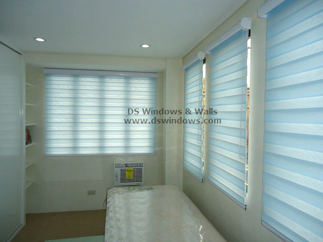 Combi Blinds installed at San Isidro, Parañaque City Philippines