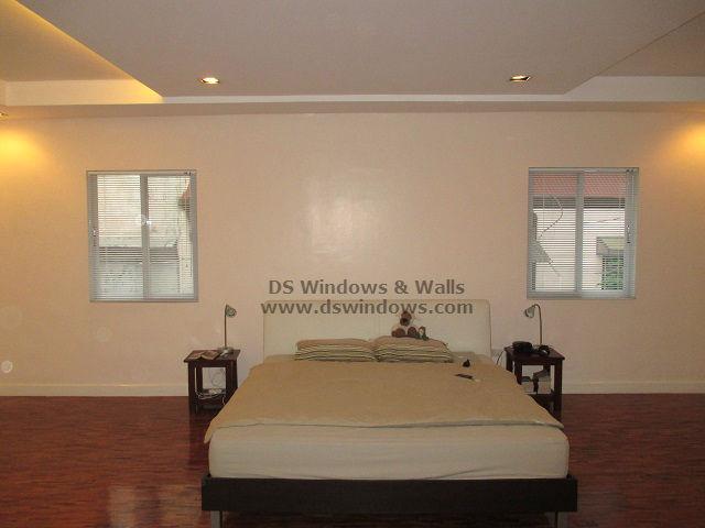 Inside Mount Aluminum Venetian Blinds For Master's Bedroom - Pasig City, Philippines