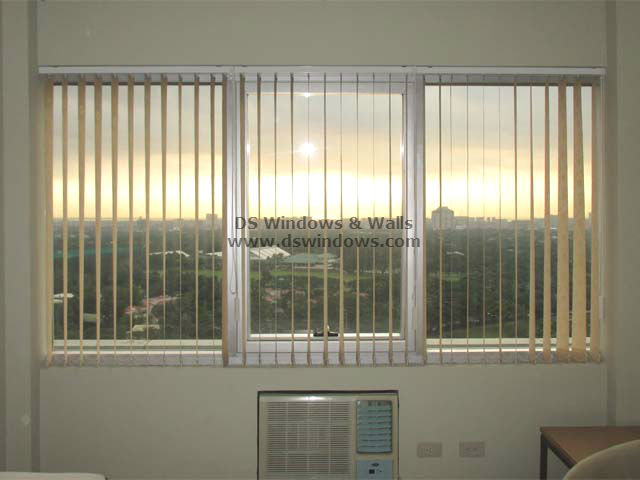 Fabric Vertical Blinds for Townhouses with Lovely Sunset View - Fairview Quezon City