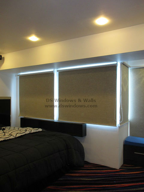 Blackout Roller Shades installed Bonifacio Global City, Taguig Phippines