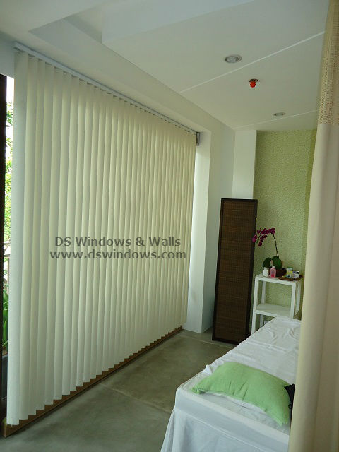 PVC Vertical Blinds for Spa Salon - Palanan, Makati City