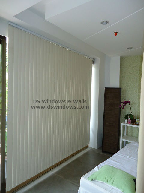 PVC Vertical Blinds installed at Palanan, Makati City Philippines