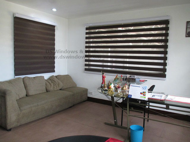Duo Shade Blinds For Feng Shui Decorating Ideas - Binondo, Manila Philippines