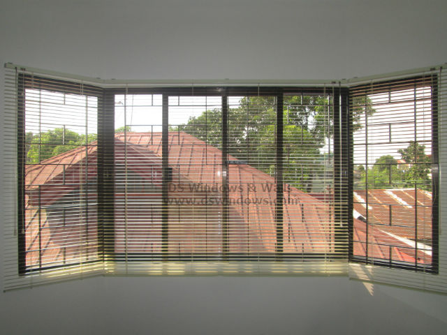 Mini Venetian Blinds Minimize The Light that Strikes through your Bay Window - Pasig City, Philippines