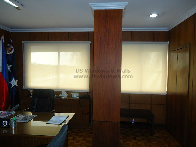 Roller Shades installed at Las Piñas City, Philippines