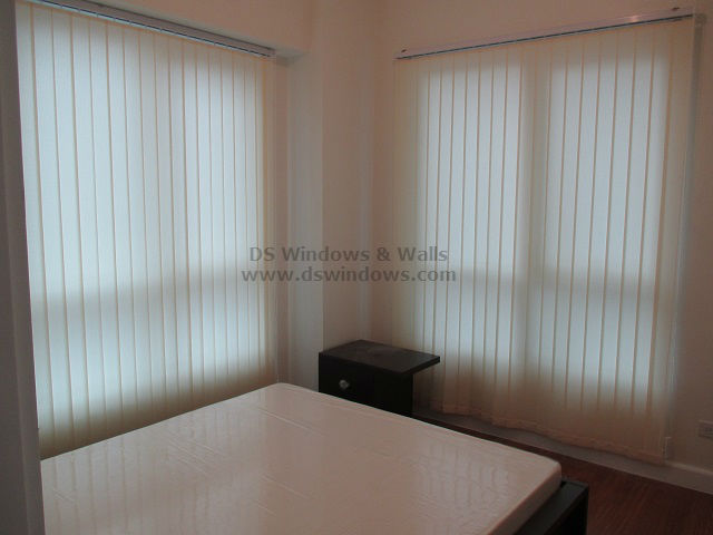 Fabric Vertical Blinds Installed at Makati City