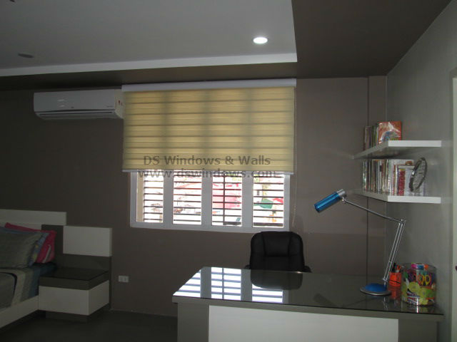 Combi Blinds for Home Office - Marikina City, Philippines
