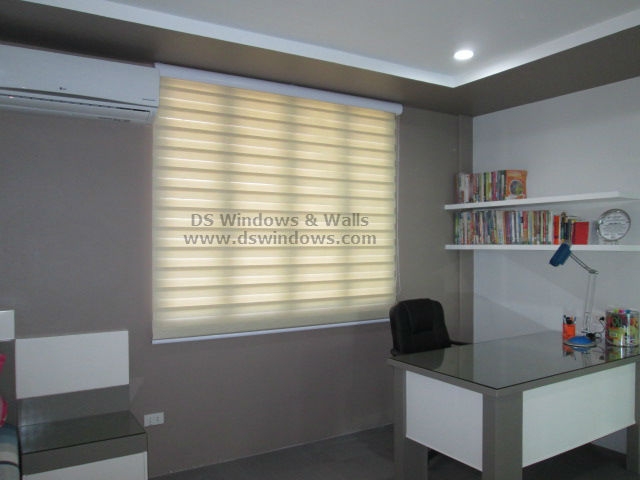 Combi Blinds installed at Marikina City, Philippines