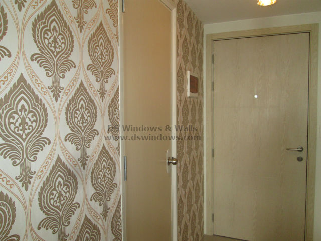 Patterned Wallpaper installed at Mandaluyong City, Philippines