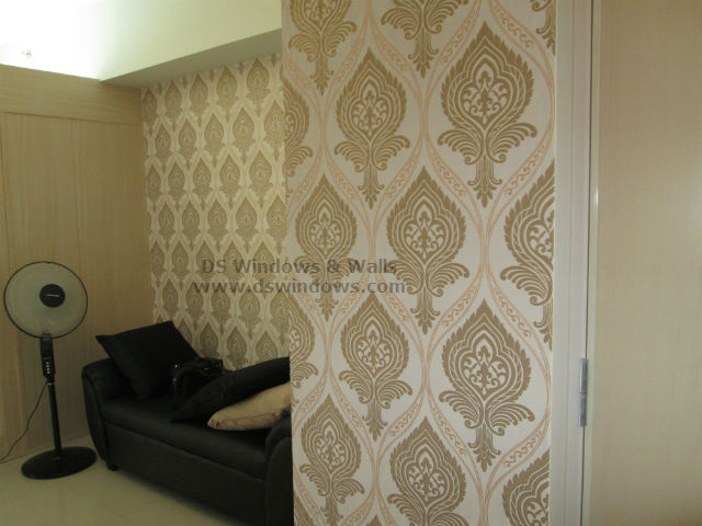 Spice Up your White Plain Wall with Patterned Wallpaper - Mandaluyong City