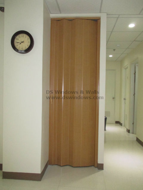 Deluxe Accordion Door as Secondary Door - Metro Manila Installation