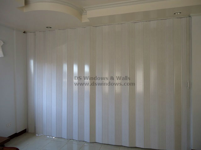 PVC Deluxe Accordion Door as Room Partition - Metro Manila, Philippines