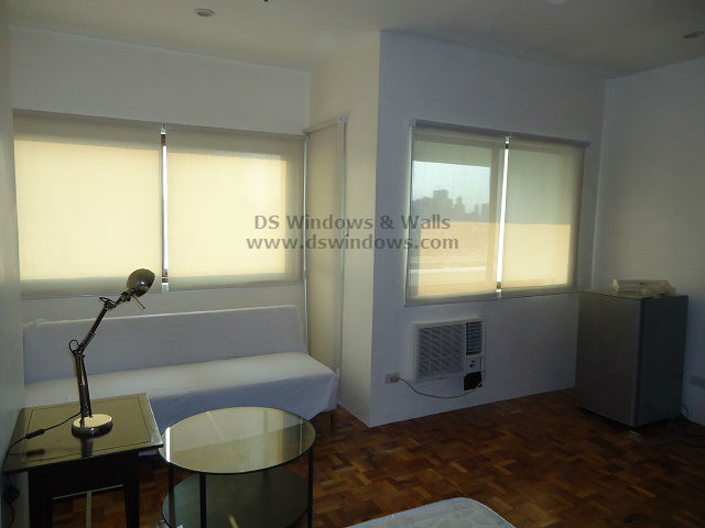 Roller Blinds for Single Studio Type Pad -Tomas Morato, Quezon City