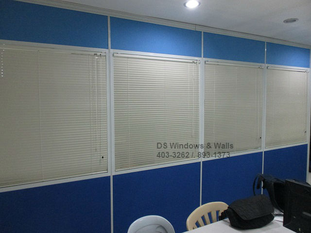 Intra-Office Partition Venetian Blinds