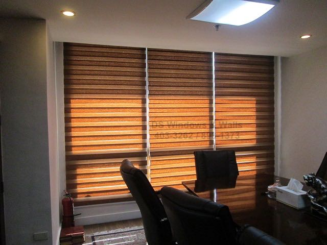 Office Interior Trend - Combi Blinds