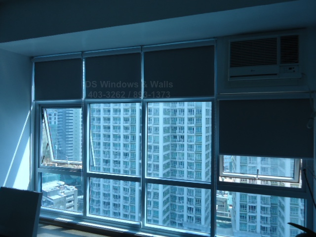 Greenbelt Madison Makati Blackout Roller Shades