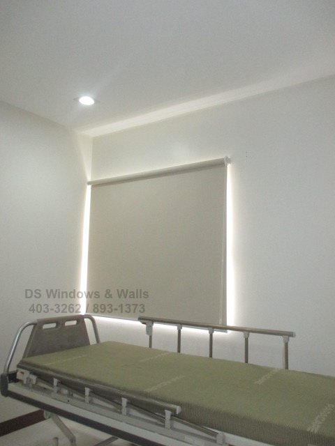 Window Cover Roller Blinds for Hospitals