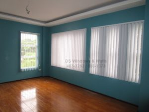Vertical blinds project at BF homes Paranaque