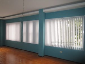 Vertical blinds for residential