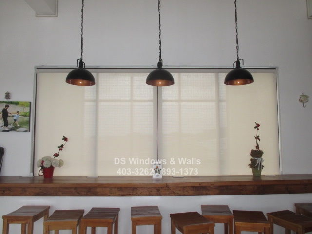 Window covers for restaurants