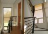 Window stairwell roller blinds