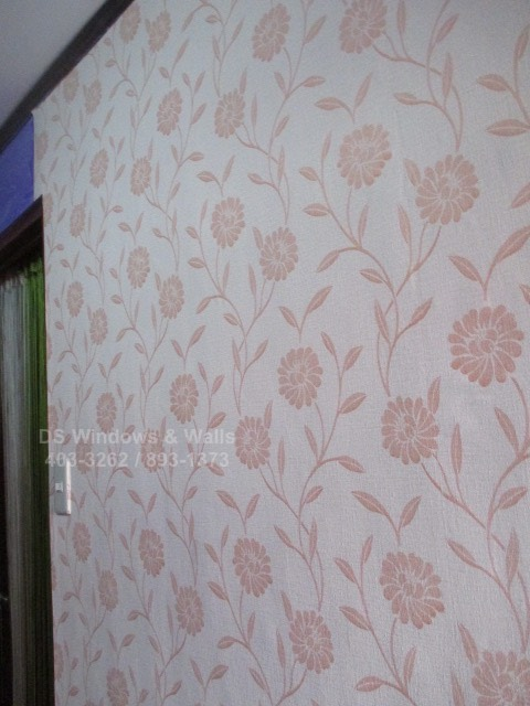 Wallpaper floral design