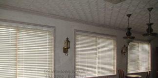 PVC Wood Blinds Alternative