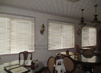 PVC Wood Blinds Alternative