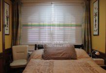 Venetian blinds center only multi-colors